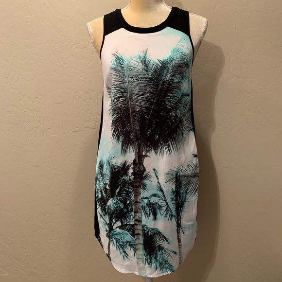 1. State Dresses & Skirts - 1. State Palm Tree Photo Print Shift Dress